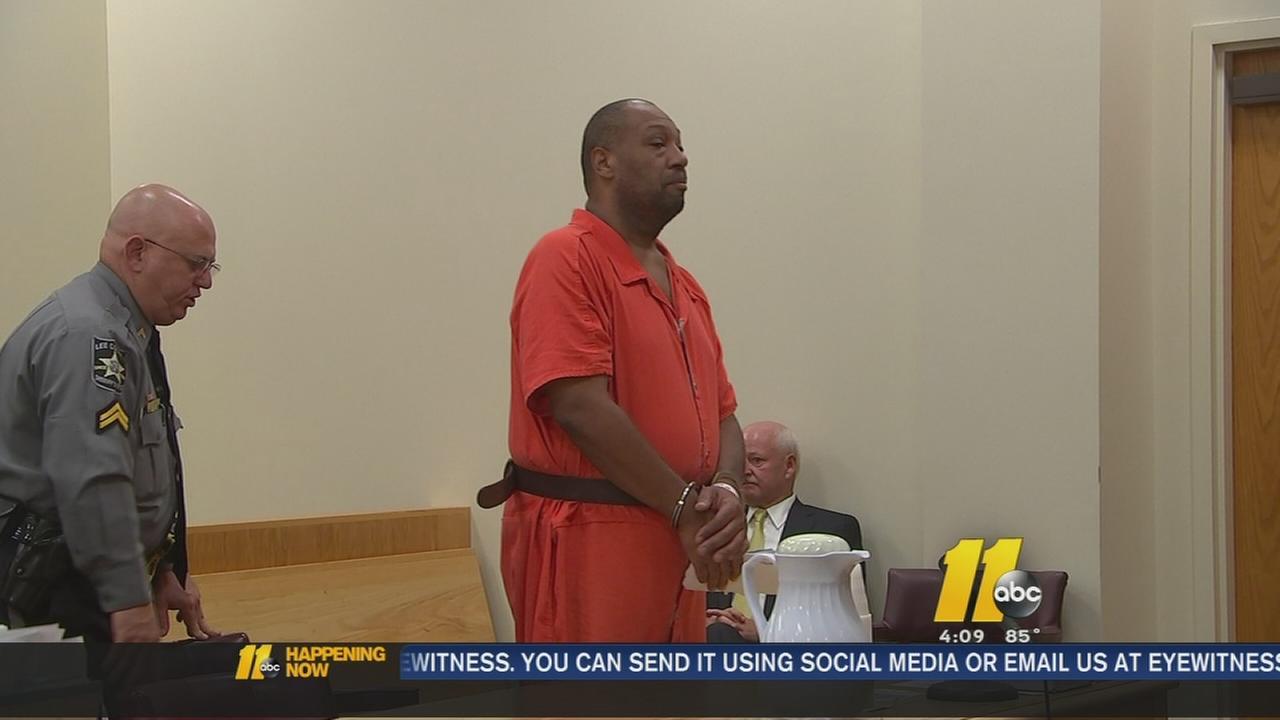 Billy Joe McClean appears in court.