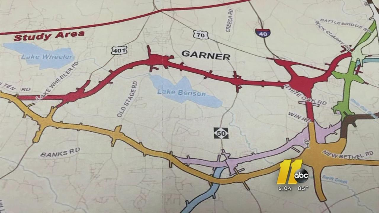 Wake County Commission wants Orange Route for 540 loop