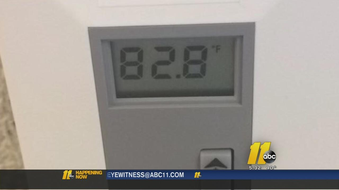 Johnston Co. school without AC