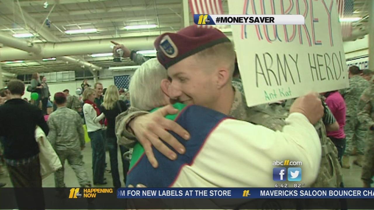 Freebies for military members