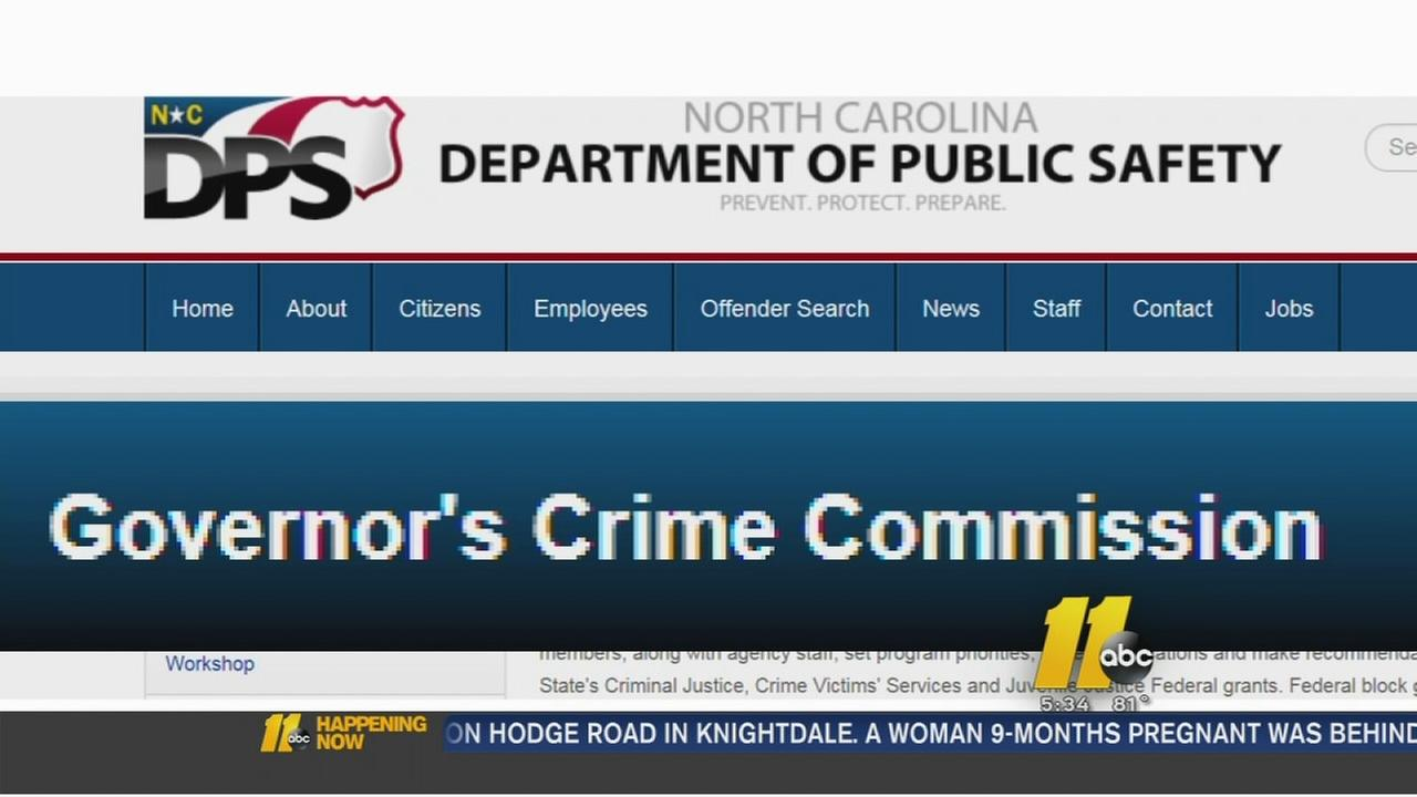 Crime commission receives funding