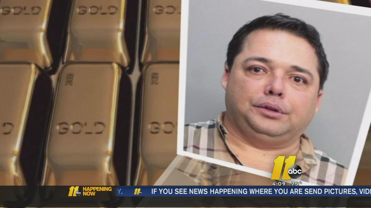 Man gets 3 years in attempt to sell gold bar stolen in heist