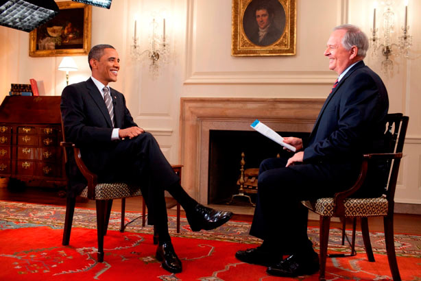 <div class='meta'><div class='origin-logo' data-origin='none'></div><span class='caption-text' data-credit=''>Larry Stogner interviews President Obama at the White House.</span></div>