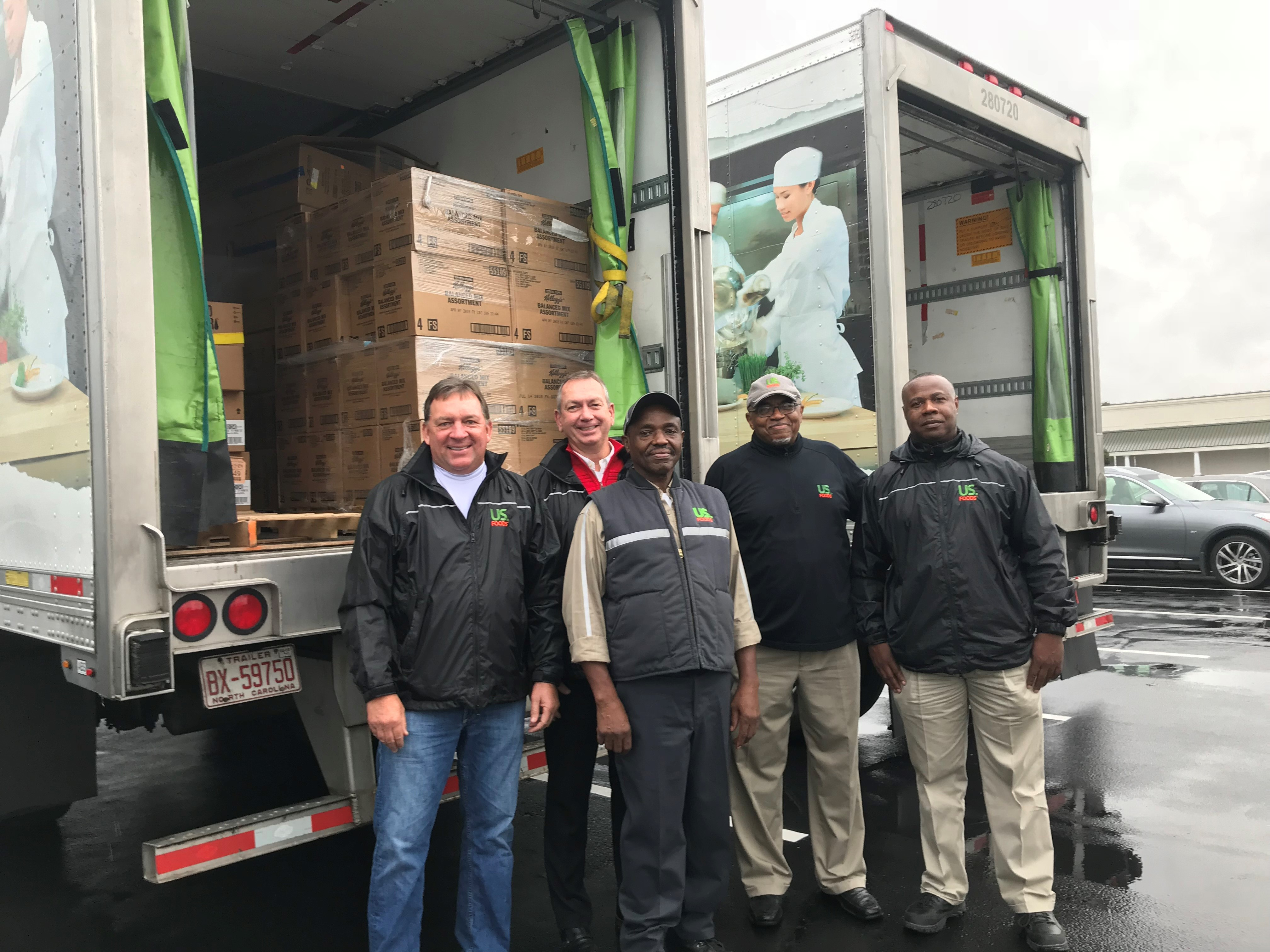 <div class='meta'><div class='origin-logo' data-origin='none'></div><span class='caption-text' data-credit=''>US foods brought a 41 foot truck down to ABC11 Together Food Drive in the Fayetteville drop off location filled with 25,000 pounds worth of product</span></div>