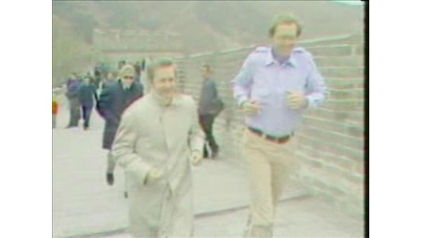 <div class='meta'><div class='origin-logo' data-origin='none'></div><span class='caption-text' data-credit='WTVD Photo'>Larry Stogner jogs with then-Governor Jim Hunt on the Great Wall of China in 1979.</span></div>