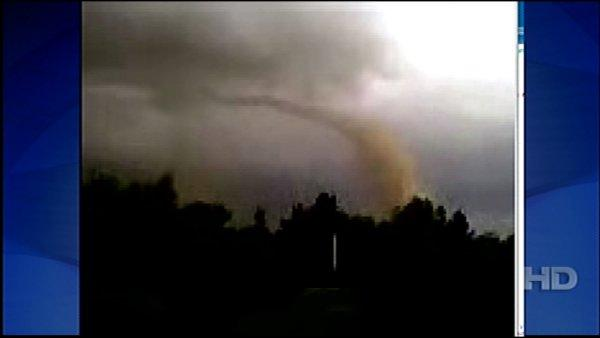 Video: Tornado touches down near Riverside