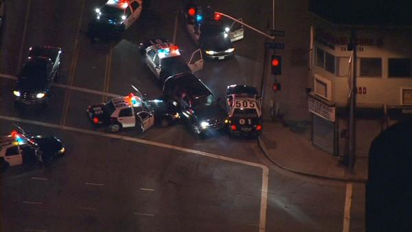 Suspect killed after LAPD standoff