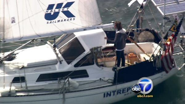 Teen returns after sailing around world
