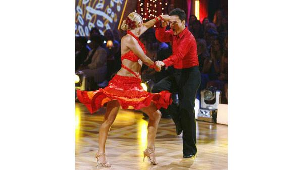 Donny Osmond and Kym Johnson on 'Dancing With the Stars,' Sept. 21, 2009