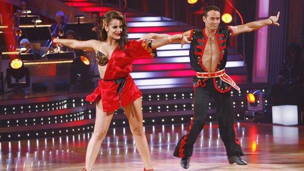 Mark Dacascos and Lacey Schwimmer on 'Dancing With the Stars,' Sept. 21, 2009