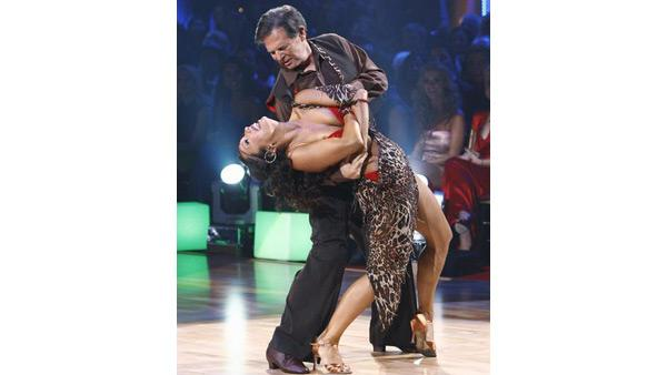 Tom DeLay and Cheryl Burke on 'Dancing With the Stars,' Sept. 21, 2009