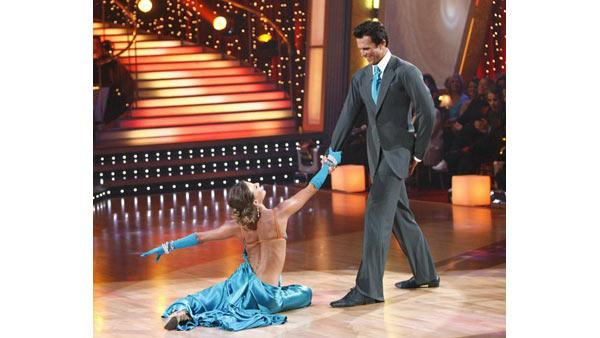 Ashley Hamilton and Edyta Sliwinska on 'Dancing With the Stars,' Sept. 21, 2009
