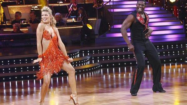 Michael Irvin and Anna Demidova on 'Dancing With the Stars,' Sept. 21, 2009