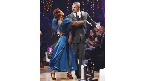 Chuck Liddell and Anna Trebunskaya on 'Dancing With the Stars,' Sept. 21, 2009