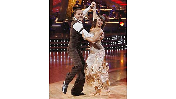 Mark Dacascos and Lacey Schwimmer perform on 'Dancing With the Stars,' Sept. 28, 2009