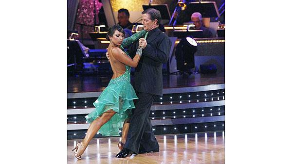 Tom DeLay and Cheryl Burke perform on 'Dancing With the Stars,' Sept. 28, 2009