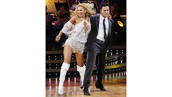 Donny Osmond and Kym Johnson perform on 'Dancing With the Stars,' Sept. 28, 2009