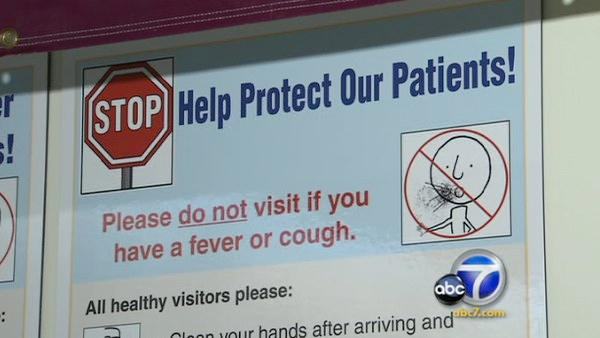 Hospitals report spike in H1N1 cases