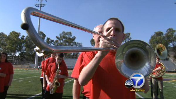 Blind marching band to debut at Rose Parade