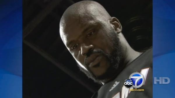 Model sues Shaquille O'Neal for harassment