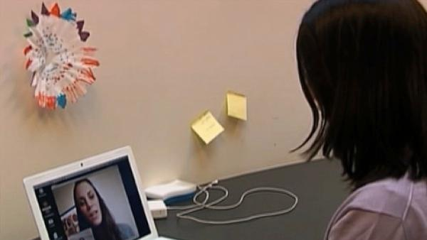 Webcam job interviews growing in popularity