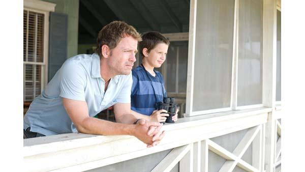 Greg Kinnear and Bobby Coleman in 'The Last Song'