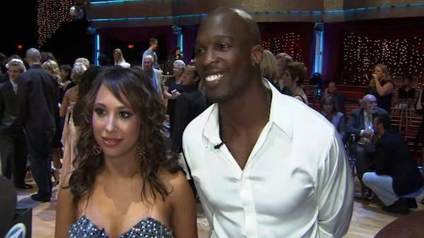 Chad Ochocinco and Cheryl Burke talk to On The Red Carpet about week 1 of 'Dancing With the Stars'