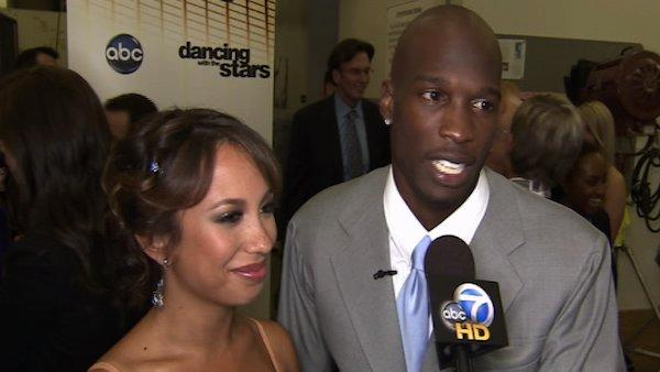 Chad Ochocinco and Cheryl Burke talk to On The Red Carpet about week 2 of 'Dancing With the Stars'