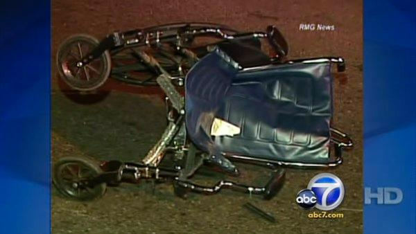Driver hits woman in wheelchair, flees