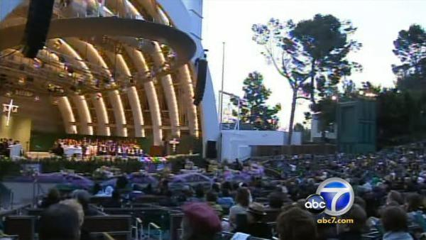 Hollywood Bowl cancels Easter Sunrise service