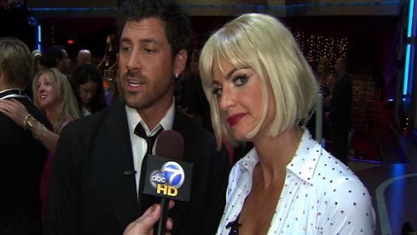 Erin Andrews, Maksim Chmerkovskiy talk rumors