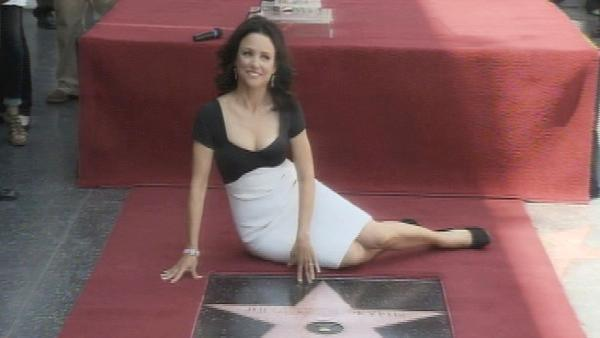 Julia Louis-Dreyfus gets Hollywood Star