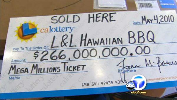 Mega Millions winning ticket sold in Pico Rivera