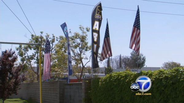 Businessman to fight back over Chino flag flap
