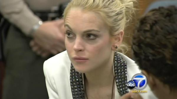 A warrant is out for Lindsay Lohan's arrest after the actress failed to appear in court for a mandatory hearing