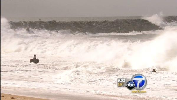 From snow to waves; SoCal getting wild weather