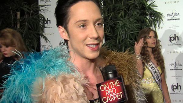 OTRC: Johnny Weir not rooting for Evan on DWTS