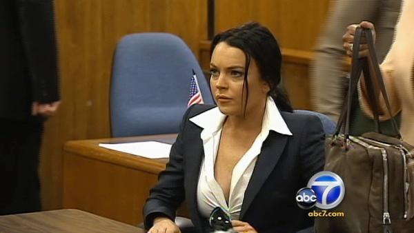 A judge said Tuesday that Lohan has violated the terms of her bail, and she has set new bail for the actress at $200K.
