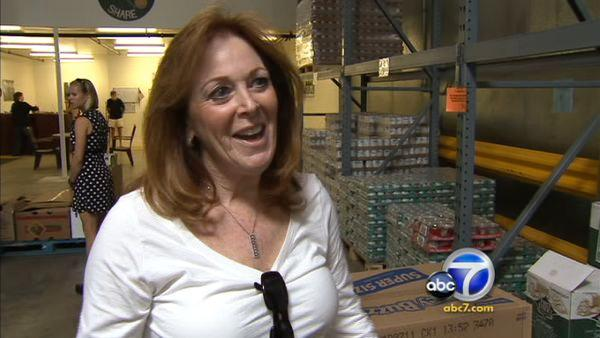 Our Jefferson Award-winner in May, Beth Yale, is the driving force behind a Ventura County food pantry after battling cancer and promising to help others.