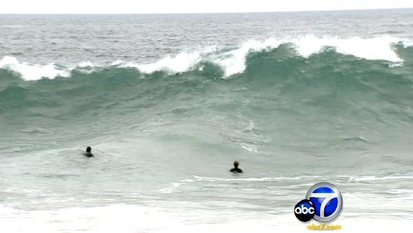 High surf advisory issued in Orange County