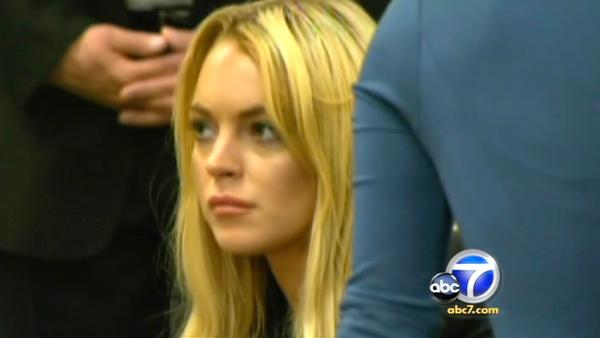 A judge could send actress Lindsay Lohan to jail after her probation revocation hearing in a Beverly Hills courtroom.