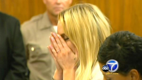 An L.A. judge found actress Lindsay Lohan in violation of the terms of her probation in Beverly Hills Tuesday.
