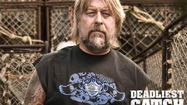 Pictured: Captain Phil Harris in a promotional photo for 'Deadliest Catch'.