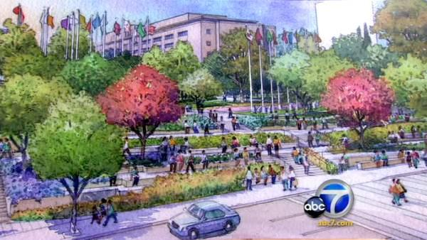 New Civic Park breaks ground in downtown L.A.