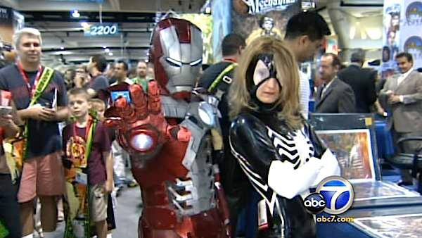Comic-Con brings characters to life