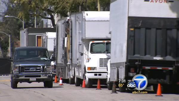 Hollywood Teamster drivers demand higher pay