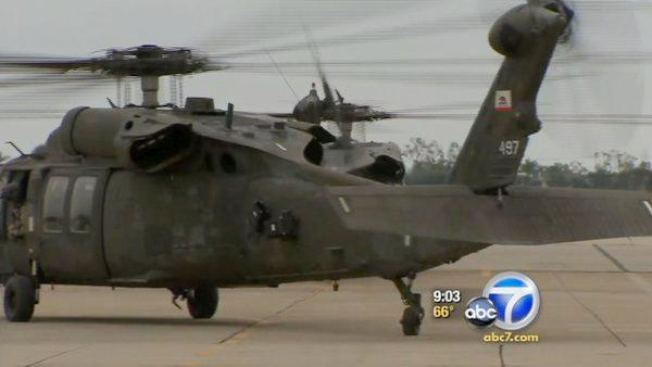 Calif. National Guard troops deploy for Iraq