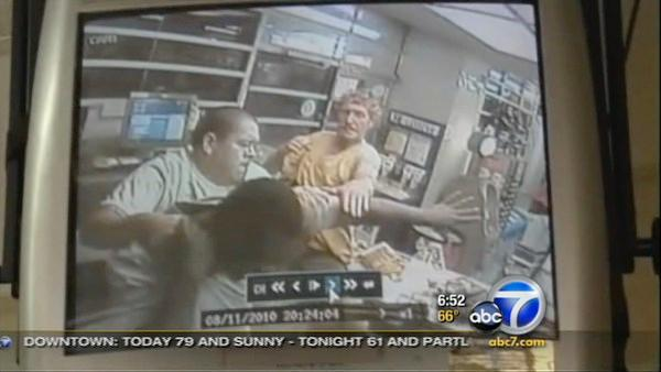 Caught on tape: Man confronts robber in TX