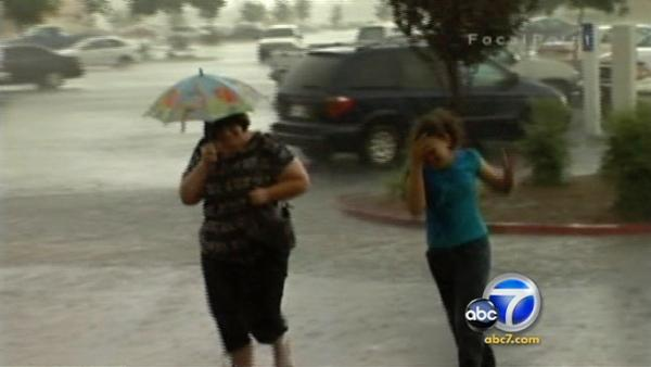 Flooded streets return to normal after storm
