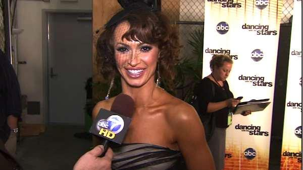 Karina Smirnoff talks after the fourth 'Dancing With the Stars' elimination.